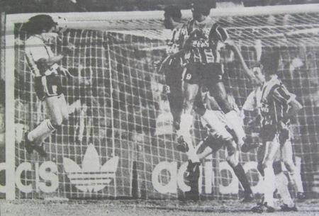 1990 estudiantes 2x0 gremio Trotta gol fernando gomes zh