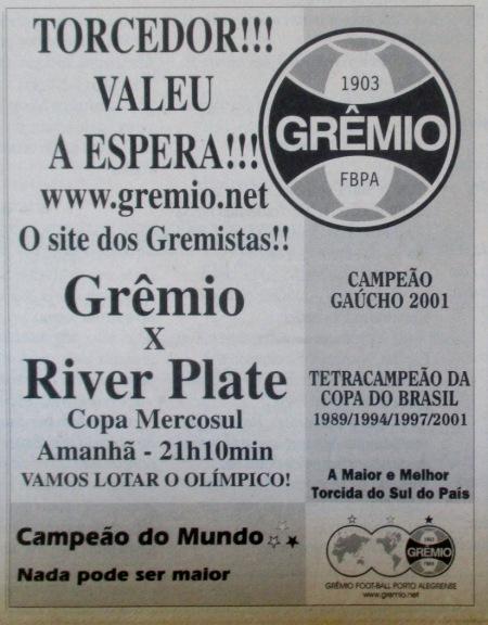 2001 river chamada