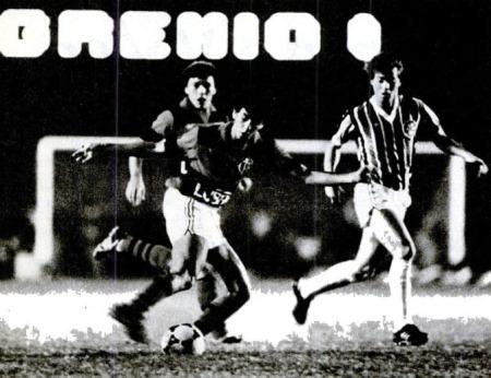 1984 flamengo 3x1 gremio de leon placar ricardo beliel placar